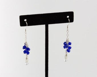 Cobalt Blue Dangles