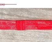 CIJ Red Interchangeable Headband,Red Headband,FOE headband, Baby Headband, Toddler Headband,FOE elastic, Newborn Headband, Girls Hair Bows