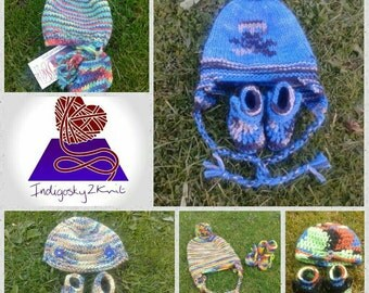 Made to order - Baby Hat & Bootee set