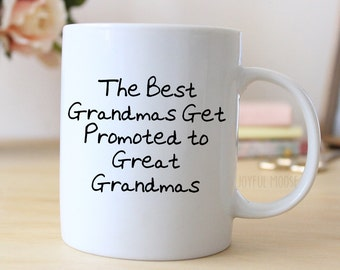 Great Grandma Coffee Mug - Pregnancy Announcement Gift - Great Grandmother Coffee Mug