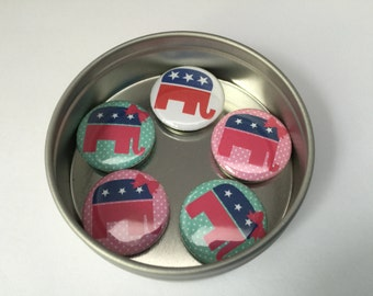 Republican Elephant Magnet Collection