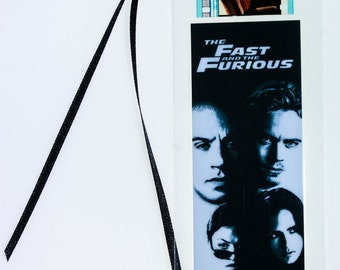 The Fast and the Furious - 35mm Film Cell Bookmark
