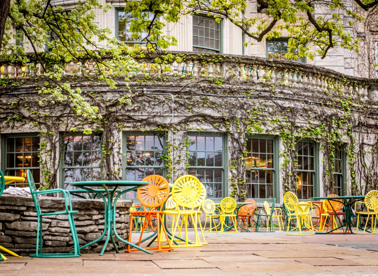Memorial union terrace chairs vines university of for The terrace madison wi