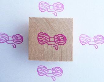 Yarn ball hand carved rubber stamp, yarn ball, sheep wool, yarn stamp, knitting stamp, ball of yarn, knitter stamp, winter crafts