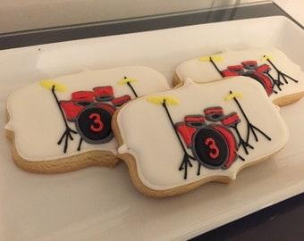 Drum Favor Cookies