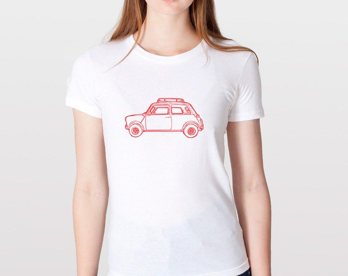KillerBeeMoto: Limited Release British Engineered Vintage Compact Car Short & Long Sleeve Shirt Cartoon Version