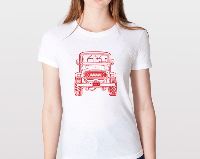 KillerBeeMoto: Limited Release Vintage Japanese Off Road Vehicle Short & Long Sleeve Shirt Cartoon Version