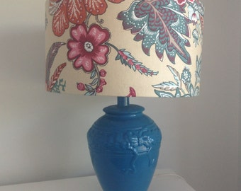 Retro flower print lampshade (FREE SHIPPING)