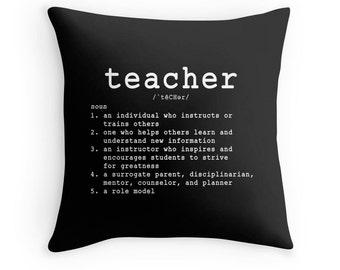 Teacher Pillow, Quotes for Teachers, Gifts for Teachers, Teacher Quote