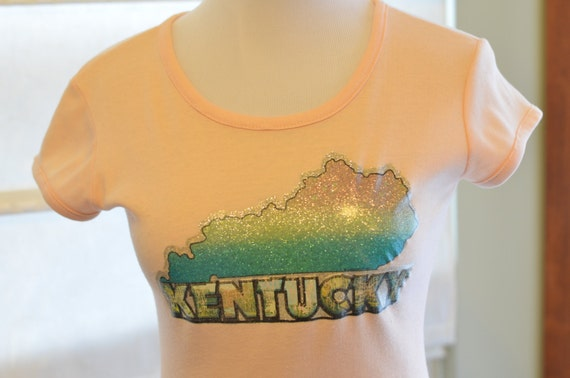 70s 80s t shirt kentucky glitter iron on transfer women 39 s for 70 s t shirt transfers