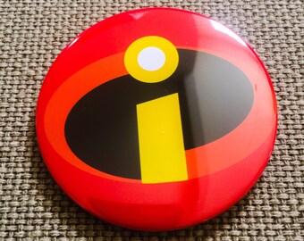 """Incredibles 3"""" button"""