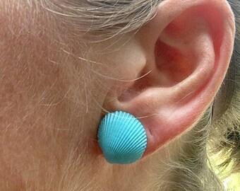 Shell Earrings / Seashell Jewelry/ Beach Accesories / Mermaid