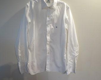 Vintage Custom Tailored Shirt -Hunter's Freeport-RockvilleCentre, NY - No Size- Cuff links Needed