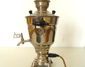 Soviet SAMOVAR. USSR made beautiful vintage Water Heater