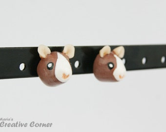Rat Stud Earrings, Gift for Pet Lover, Premade, Ready to ship