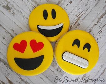 24 - Emoji Sugar Cookies