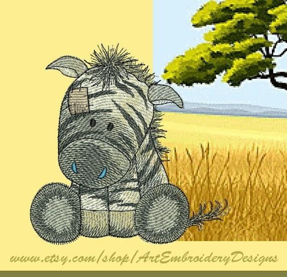 zebra machine