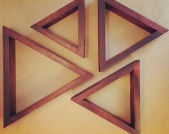 Triangle Shelves (Set of 4)