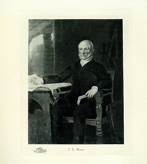 Quincy (IL) United States  City pictures : JOHN QUINCY ADAMS, 6th President of the United States of America, 1825 ...