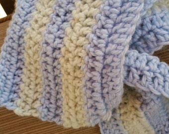 Winter Time Blues Scarf