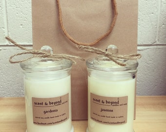 Large Scented Soy Wax Candle