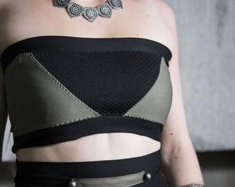 Brassiere Panel Khaki/Black size M