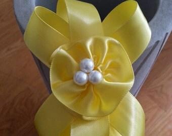 Youthful Yellow Ribbon Headband