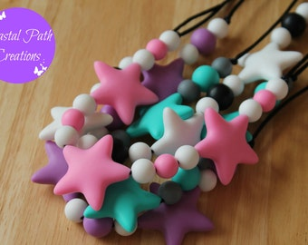 PHOENIX (4 colours). Nursing necklace, teething necklace, for mums