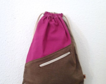 Handmade individual Gymbag