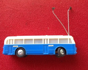 Eheim German toy collectible bus electric trolley only