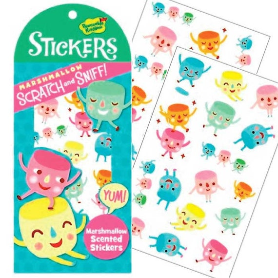 scratch and sniff stickers how to make