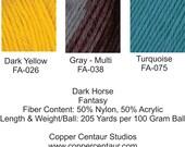 Dark Horse Yarn:  Fantasy