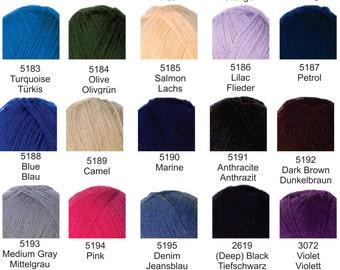 Opal Sock Yarn Solids