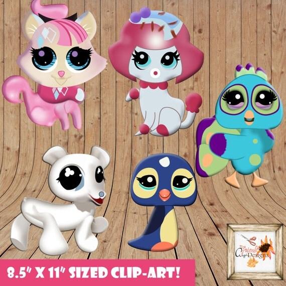 free littlest pet shop clipart - photo #33