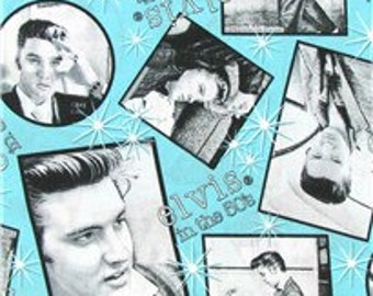 Elvis 100% Cotton Fabric by the yard