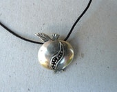 Handmade silver pendant,men pendant,unisex pendant,lucky pendant