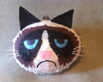 Grumpy cat pinata