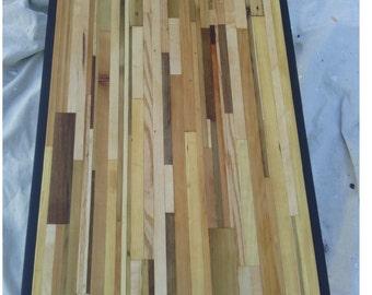 Reclaimed lumber coffee table