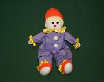Clown Rag Doll