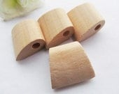 27.63mmx30.35mm Unfinished Axe Natural Wood Spacer Beads Pendant Charm Finding,DIY Accessory Jewellry Making Beads