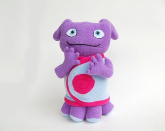 Pattern Boov Oh, Home 2015 inspired, Soft Toy alien PDF INSTANT DOWNLOAD