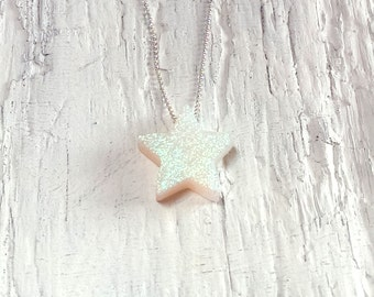 Pearl Star Necklace