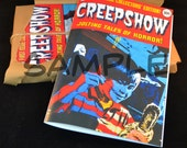 Creepshow 2 Comic Replica Prop Horror - very rare item