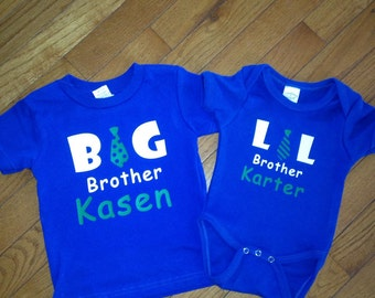 Matching big brother little brother set