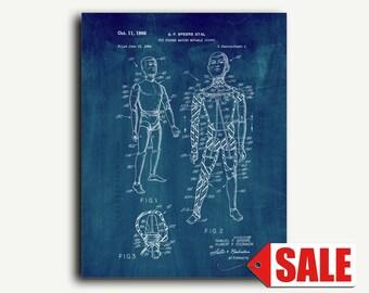 Patent Art - GI Joe Toy Doll Patent Wall Art Print Poster