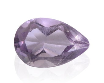 Pink Amethyst Pear Cut Loose Gemstone 1A Quality 8x5mm TGW 0.55 cts.
