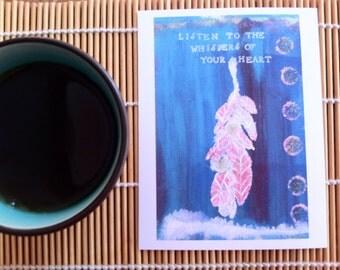Listen - Postcard