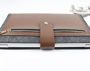 "felt Macbook Air 13.3"" sleeve, Macbook sleeve 13, Macbook 13 case, Macbook Air sleeve, Macbook case, Laptop sleeve, Laptp case SJ228"
