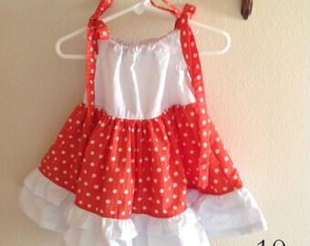 Olivia Ruffled Pillowcase Dress* Size 12M