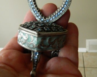 Jeweled-ring/trinket box-Picture holder